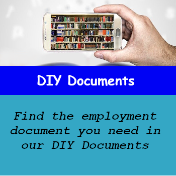 Find the employment document you need in our DIY documents