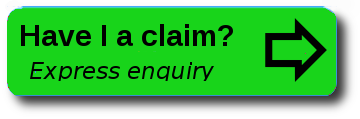 have I a claim green express enquiry button